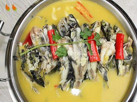 【张家界美食】清汤岩骨鱼