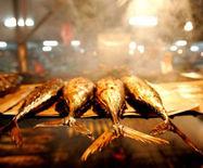 文莱特色小吃:文莱烤鱼