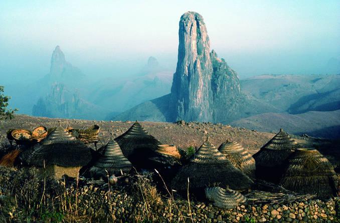 喀麦隆的风景