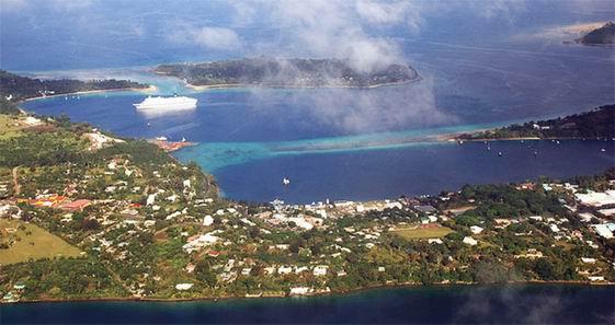 瓦努阿图首都维拉港