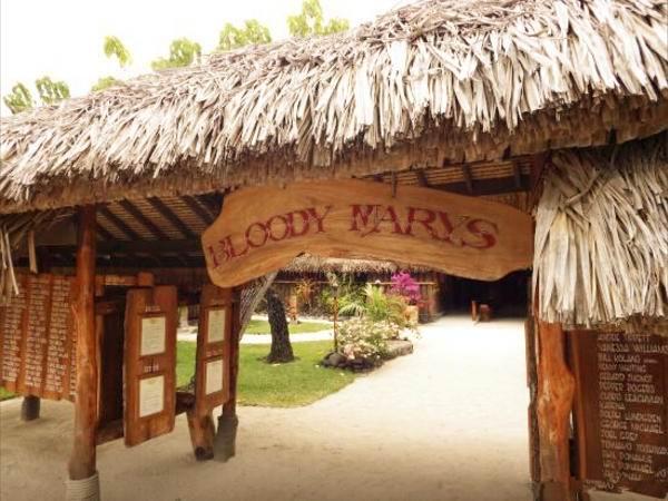 大溪地(Tahiti)-血腥玛丽餐厅(Bloody Mary's Restaurant)