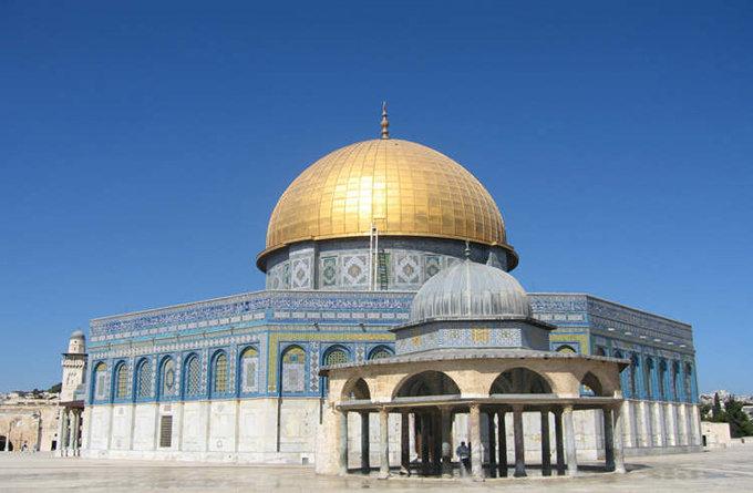 圆顶清真寺_耶路撒冷_以色列