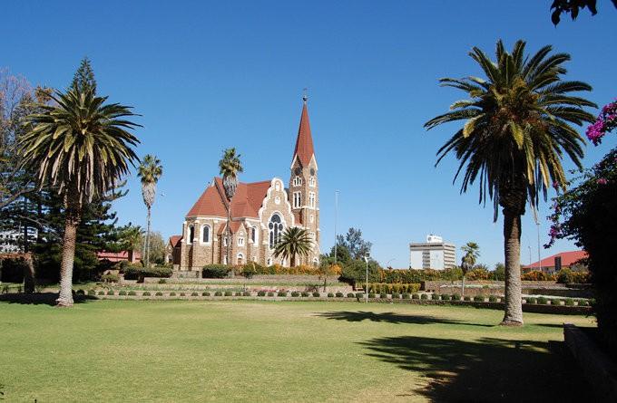 教会_温得和克_纳米比亚
