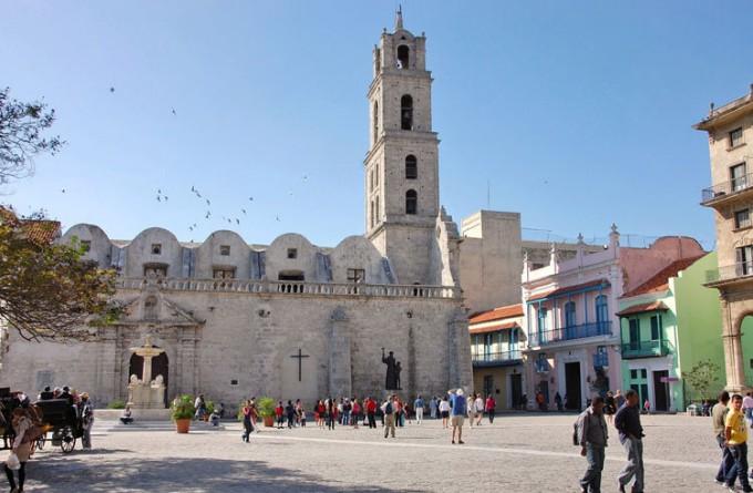 圣弗朗西斯科广场_哈瓦那_古巴