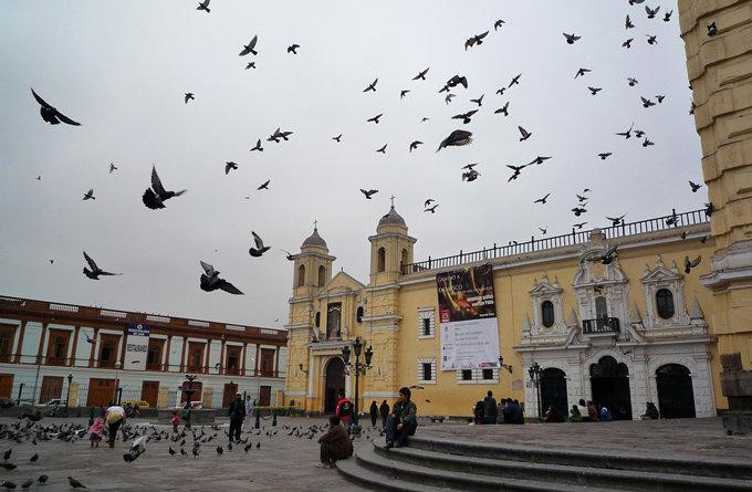圣弗朗西斯科修道院_利马_秘鲁