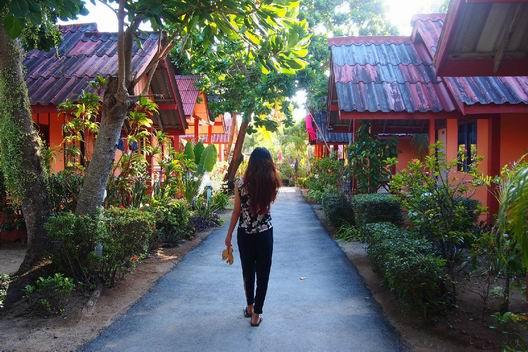 兰达岛旅游景点:兰塔老镇
