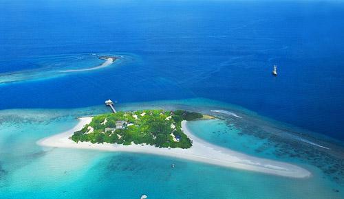 马尔代夫马迪瓦鲁岛 帐篷别墅的私密生活
