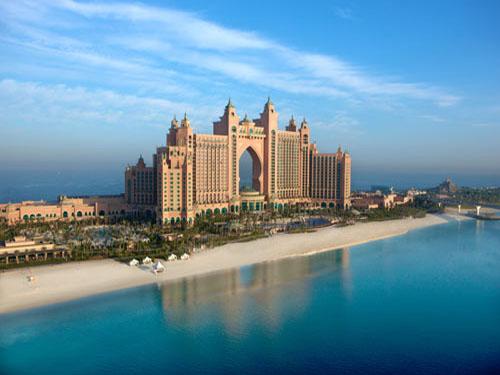 迪拜亚特兰蒂斯酒店中的海洋