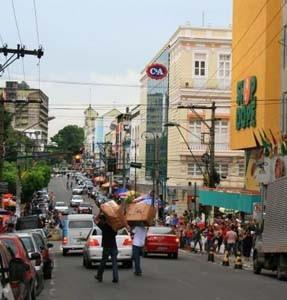 美洲玛瑙斯:城巷幽情桑巴热情