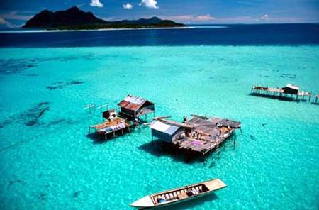 美丽的邦咯岛  马来西亚