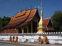 【全景老挝】广州起止-老挝琅勃拉邦、万荣、万象深度6天探秘之旅