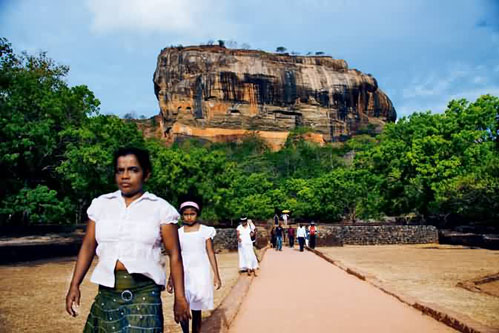 """游览""""世界第八大奇迹""""—斯里兰卡狮子岩"""