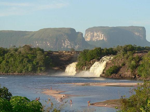 落差之美 委内瑞拉卡奈玛国家公园