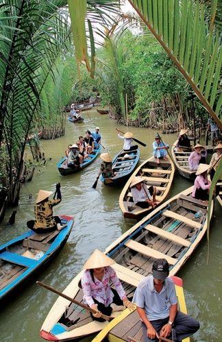 行走在越南美托