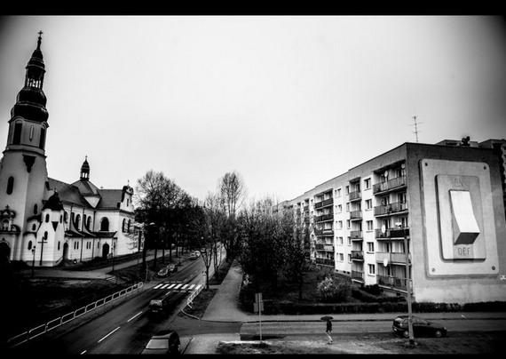 全球拥有顶级街头艺术的城市-波兰 卡托维兹