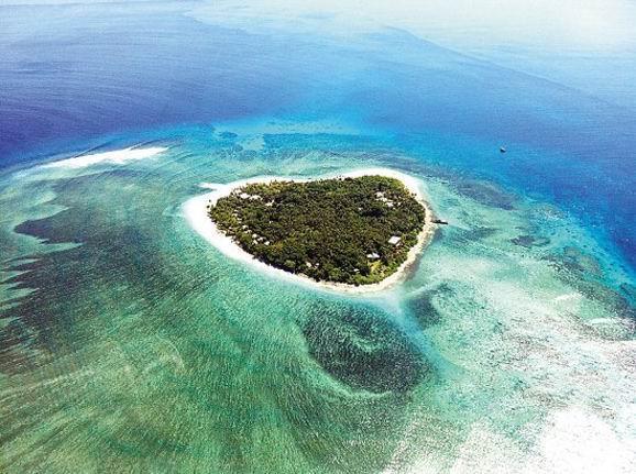 乐天国度斐济 蓝色珊瑚礁之恋